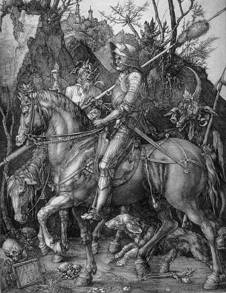 Dürer's Knight, Death, & Devil