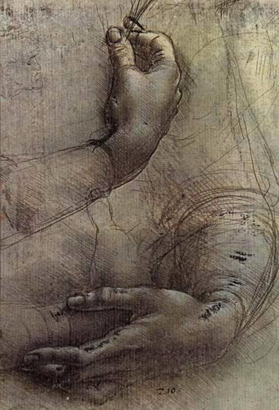 Click to see more of Leonardo's drawings. Leonardo da Vinci
