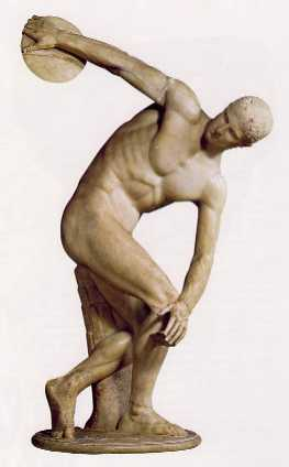 Myron's Discus Thrower, Classical Greek sculpture
